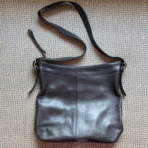 Coach Duffle Gallery Slim Tote Shoulder Leather